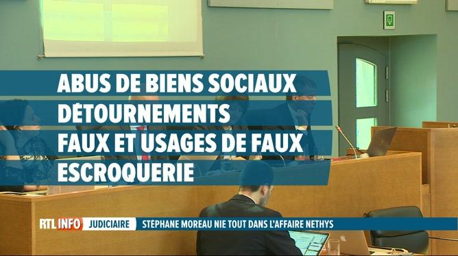 Affaire Nethys: Stéphane Moreau nie tout et clame son innocence