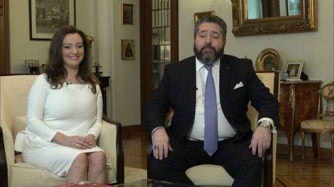 L'héritier des Romanov se fiance : interview exclusive dans