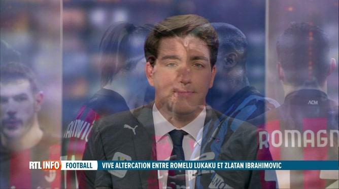 Grosse altercation entre Romelu Lukaku et Zlatan Ibrahimovic