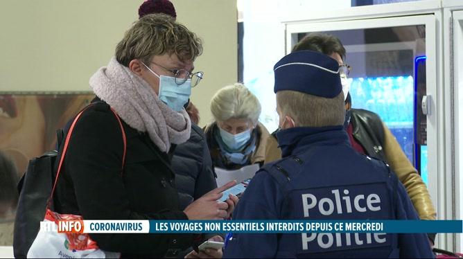 Coronavirus: les voyageurs contrôlés dans les gares internationales