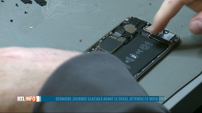 Le froid et le gel affaiblissent les batteries de nos smartphones