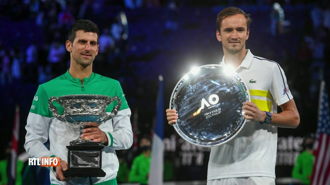 Tennis: victoire de Novak Djokovic en finale de l'Open d'Australie