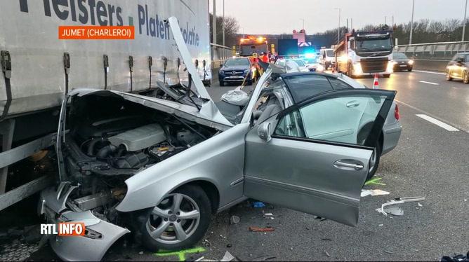 Accident mortel ce matin sur la A54 à Jumet