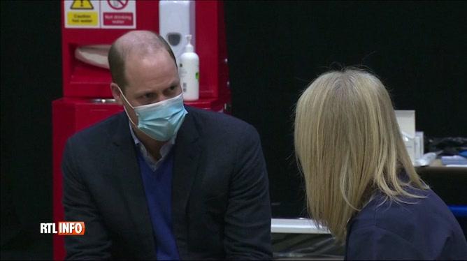 Le prince William donne des nouvelles de son grand-père hospitalisé