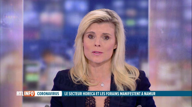 Coronavirus : opération escargot à Namur
