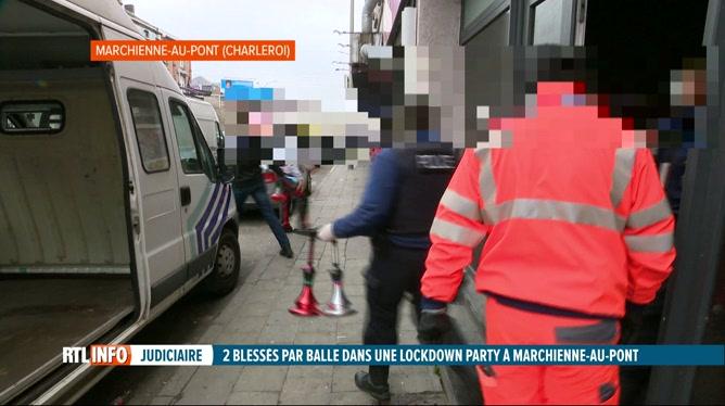 Mont-sur-Marchienne: la police découvre une lockdown party