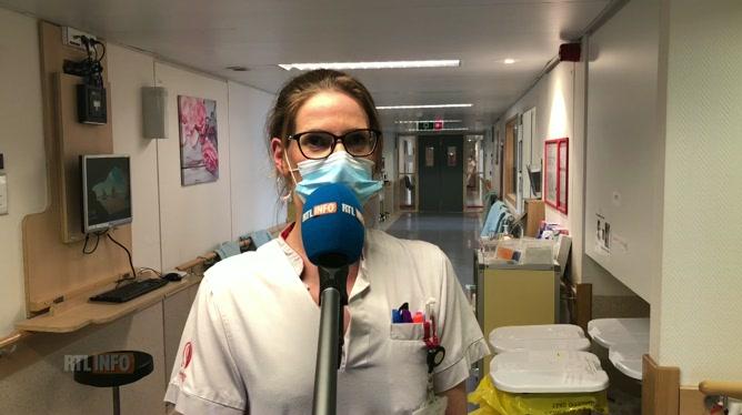 COVID 1 AN - L'infirmière en chef de l'unité Covid de la clinique Saint-Pierre se rappelle des premières semaines