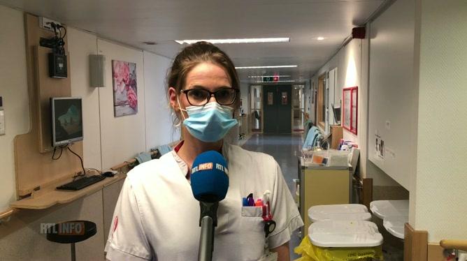 L'infirmière en chef de l'unité Covid de l'hôpital d'Ottignies se rappelle: