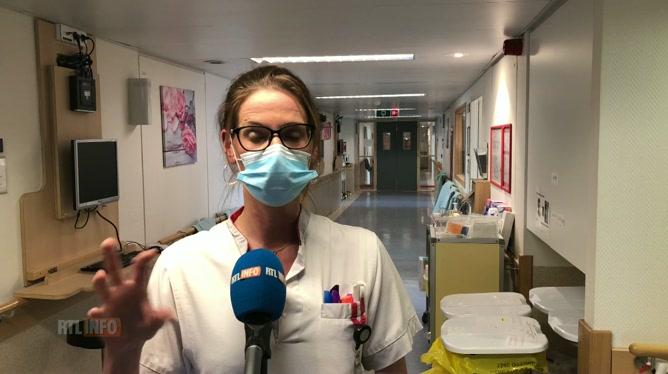 L'infirmière en chef de l'unité Covid de l'hôpital d'Ottignies décrit des situations humainement très dures