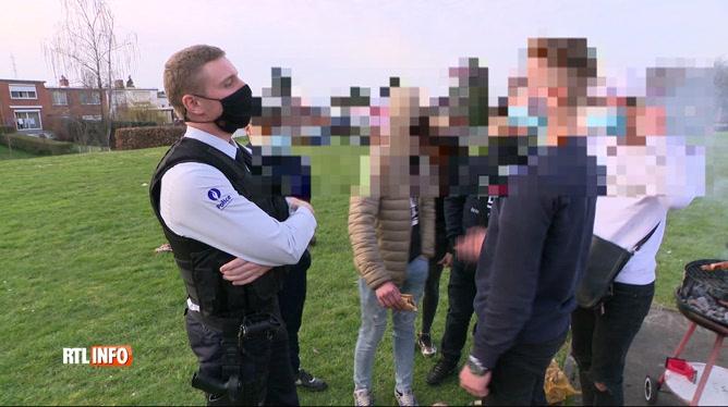 Coronavirus: la police boraine confrontée à la lassitude des gens