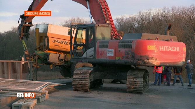 Incident technique sur la voie ferroviaire entre Obourg et Mons