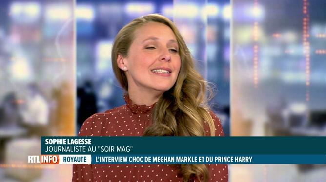Interview d'Harry et Meghan: analyse de Sophie Lagesse, journaliste Soir Mag