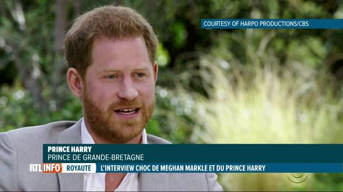 Interview d'Harry et Meghan: Harry parle du