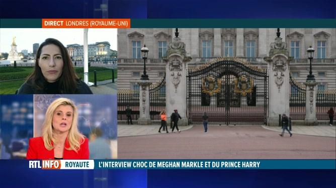 Interview d'Harry et Meghan: pas de réaction de Buckingham Palace