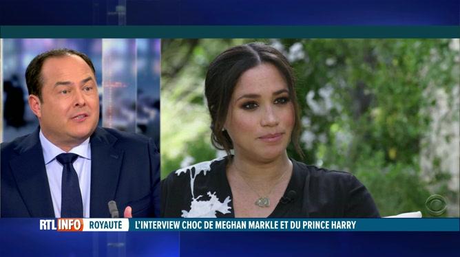 Interview d'Harry et Meghan: analyse de Thomas de Bergeyck