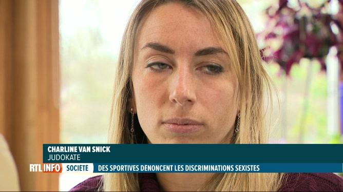 Charline Van Snick dénonce le sexisme dans le sport de haut niveau