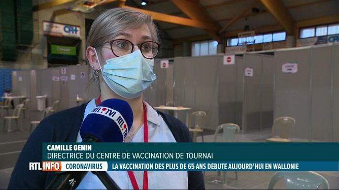 Coronavirus: le bilan est positif au centre de vaccination de Tournai