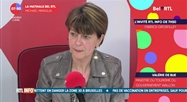 Valerie De Bue - L'invité RTL Info de 7h50
