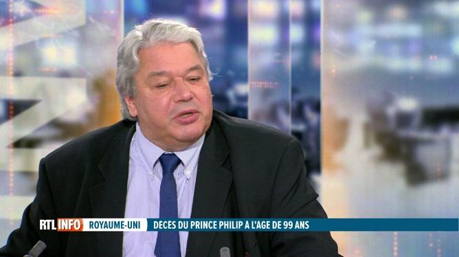 Christophe Giltay revient sur le décès du prince Philip, époux de la reine Elizabeth II