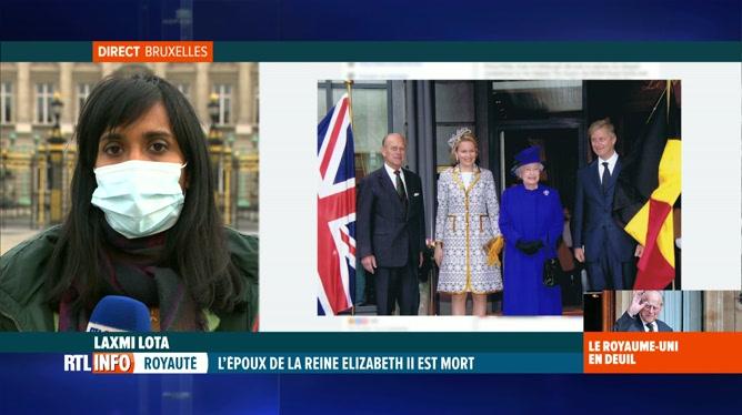 Décès du prince Philip: le palais royal belge présente ses condoléances