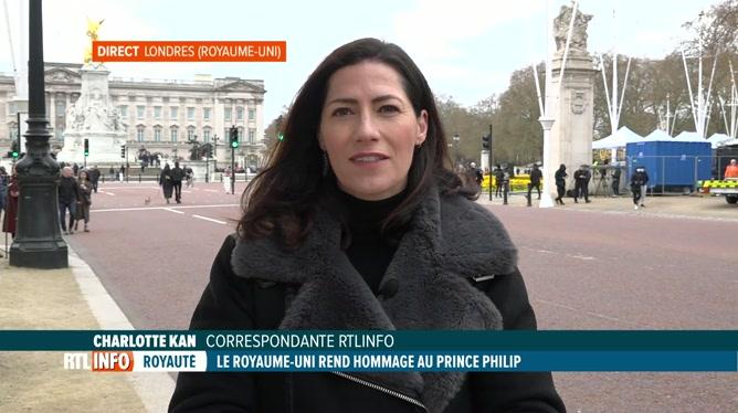 Décès du prince Philp: Charlotte Kan est en direct de Londres