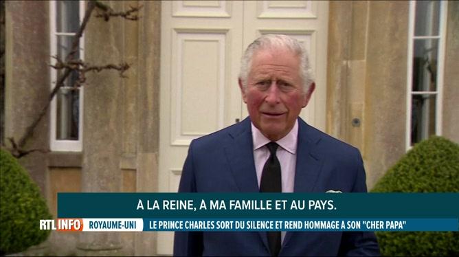 Décès du prince Philip: le prince Charles a rendu hommage à son père