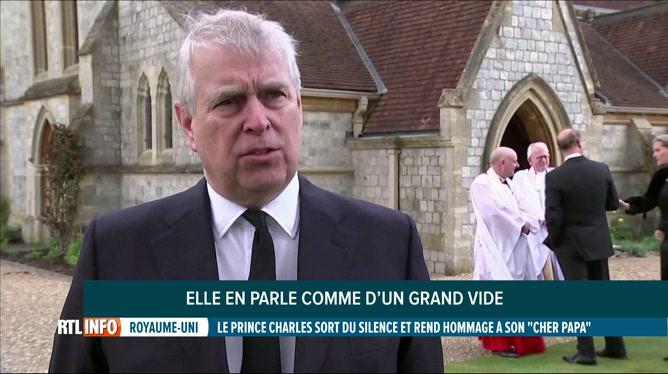 Décès du prince Philip: le prince Andrew donne des nouvelles de la Reine