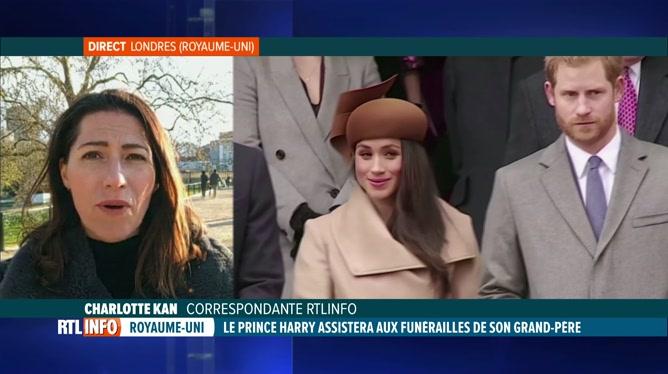 Décès du prince Philip: le prince Harry assistera aux funérailles