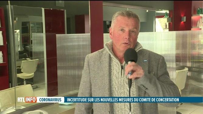 Codeco: réaction de Patrick Dumont pour les coiffeurs de Belgique