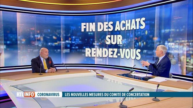 Codeco: réaction de Pierre-Frédéric Nyst, le président de l'UCM