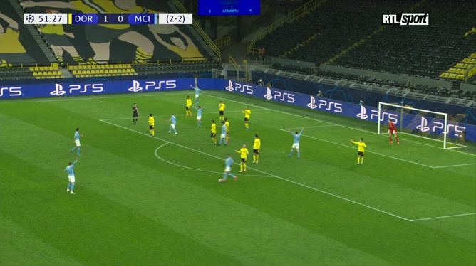 Le penalty polémique accordé à Manchester City