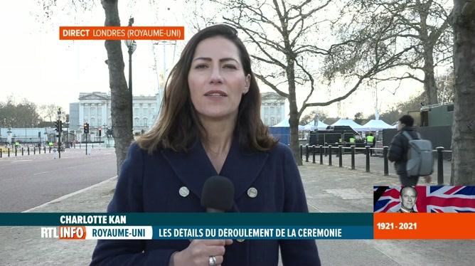Funérailles du prince Philip: le point en direct avec Charlotte Kan