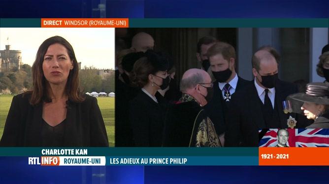 Funérailles du prince Philip: William et Harry ensemble à la sortie de l'office