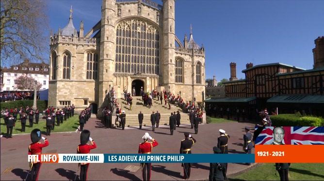 Funérailles du prince Philip: retour sur la cérémonie à Windsor