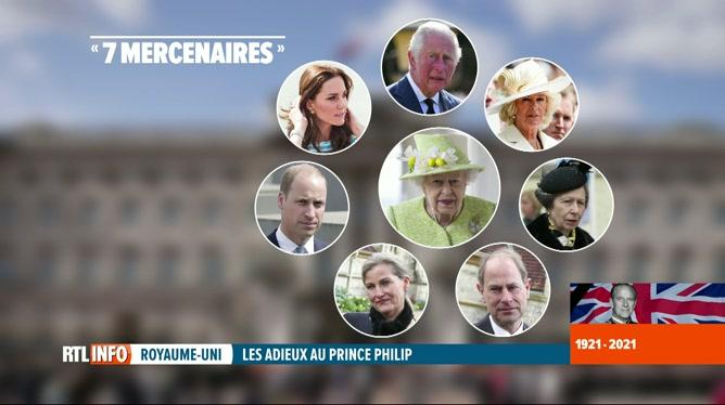 Funérailles du prince Philip: la monarchie se resserre autour de membres clés