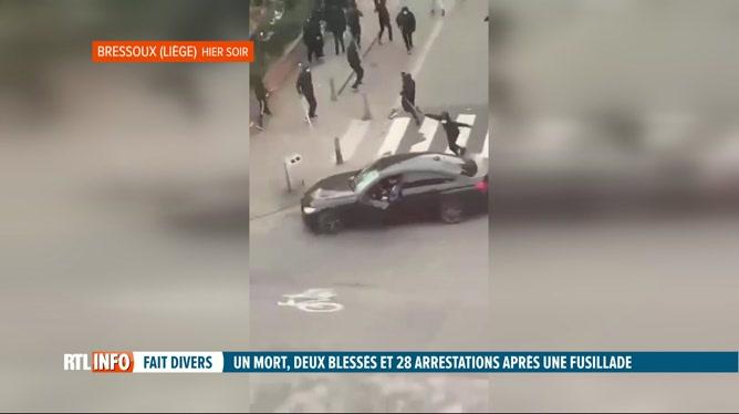 Pas de représailles à Bressoux après la fusillade d'hier après-midi