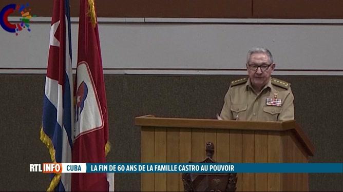 Raul Castro va quitter le poste de premier secrétaire du Parti communiste