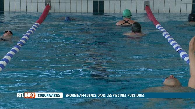 Coronavirus: obtenir un rendez-vous dans une piscine est compliqué