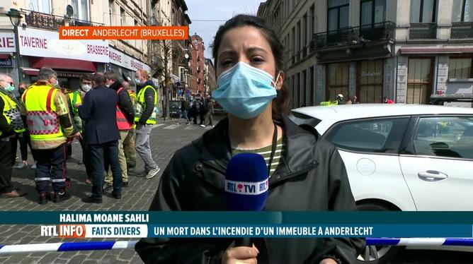 Incendie à Anderlecht, infos en direct