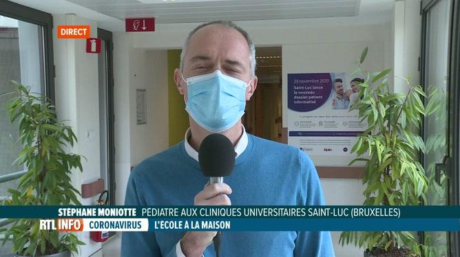 Coronavirus: les pédiatres demandent une réouverture des écoles à 100%