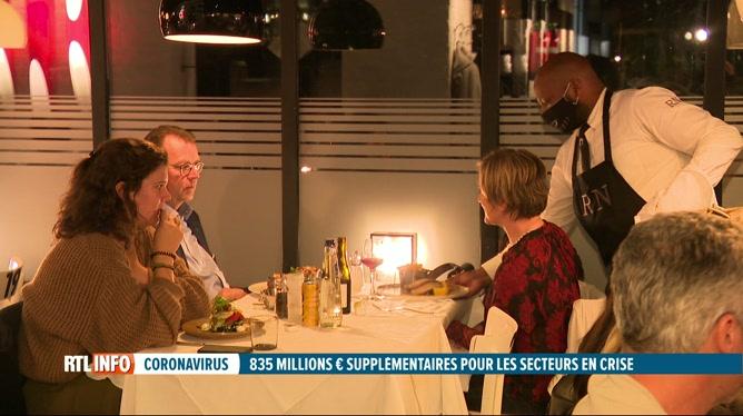 835 millions d'€ supplémentaires pour les secteurs les plus touchés