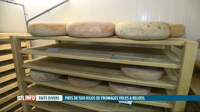 400 kilos de fromages dérobés à un couple d'affineurs de Beloeil