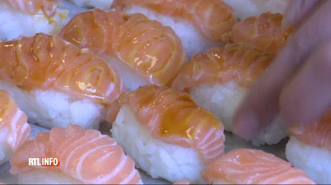 Des élèves d'une école hôtelière se lancent dans le sushi et font un carton !