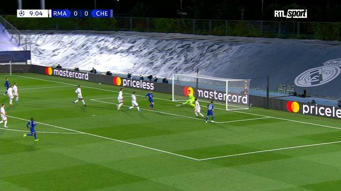 Real Madrid - Chelsea: l'arrêt splendide de Thibaut Courtois (vidéo)