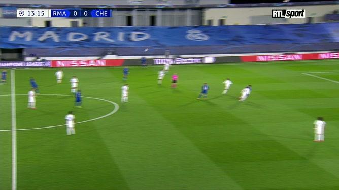 Real Madrid - Chelsea: Christian Pulisic ouvre le score pour les Blues