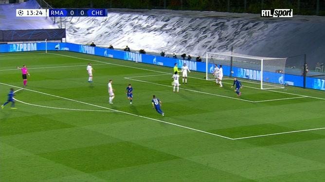 Real Madrid 1 - 1 Chelsea