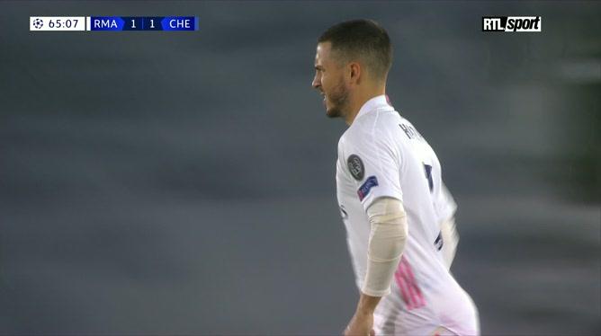Real Madrid - Chelsea: focus sur la prestation d'Eden Hazard