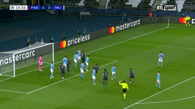 PSG - Manchester City: Marquinhos ouvre le score!