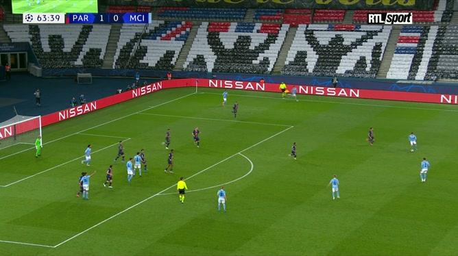 PSG - Manchester City: Kevin De Bruyne égalise