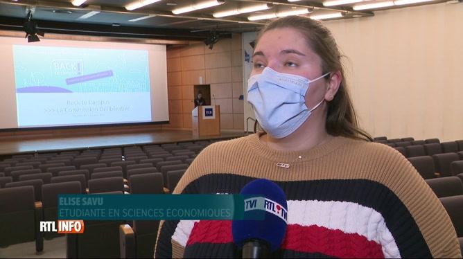 Les étudiants de l'ULB proposent des solutions pour le retour sur les campus